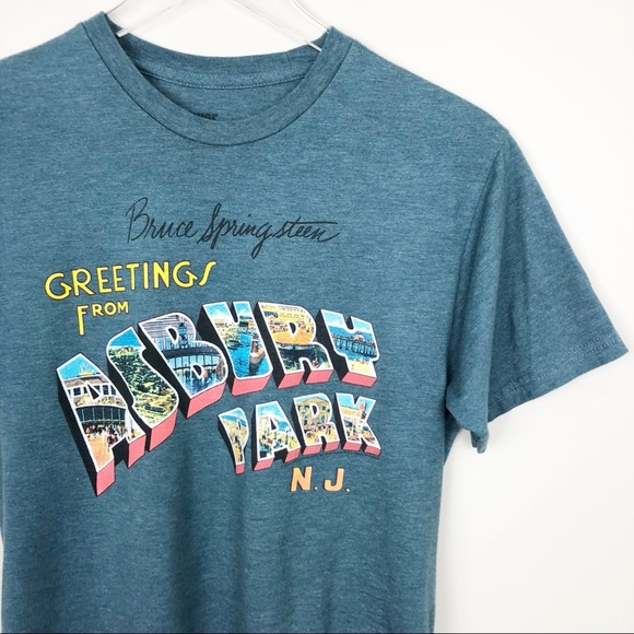 Bruce springsteen shirts greetings from asbury park tee poshmark bruce springsteen greetings from asbury park tee m4hsunfo